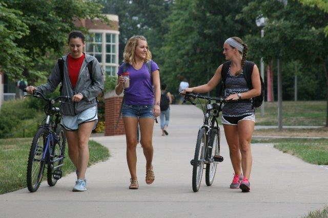 Students at Truman State University